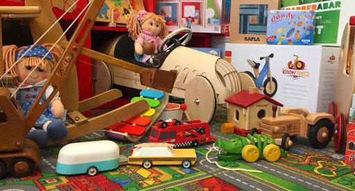 Overzicht Houten Speelgoed