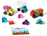 SMARTGAMES - Trucky 3 - vrachtauto's, blokken en uitdagingen