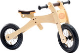 Trybike Wood Brown tweewieler hoog