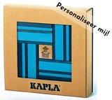KAPLA - 40 stuks Nr 21 Licht-/Donker blauw - Gemaakt voor jou!