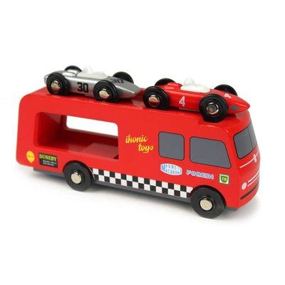 IKONIC TOYS - Autotransporter incl. 2 raceauto's
