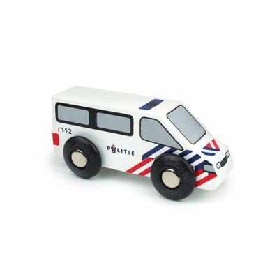 IKONIC TOYS - Houten Politieauto