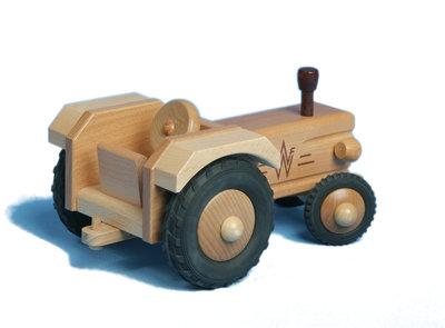 WERDAUER - Tractor zonder dak
