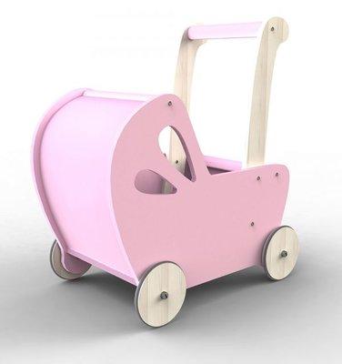 MOOVER - poppenwagen line Pink