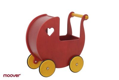MOOVER - poppenwagen rood