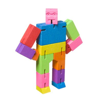 AREAWARE - CUBEBOT small multi color