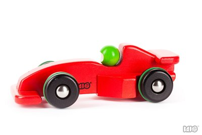 BAJO - Racing Car F Red/Silver
