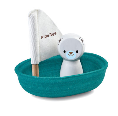 PLANTOYS - Sailing Boat Polar Bear