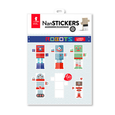 EL NAN - Nan Stickers Robots