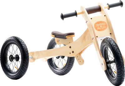 TRYBIKE - wood brown