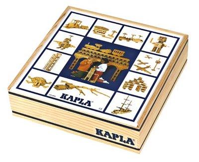 KAPLA - 100 stuks (verpakt in kist)