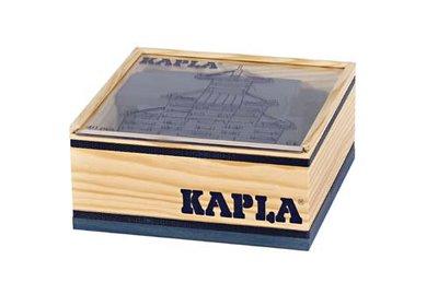 KAPLA - 40 stuks Donkerblauw (in kistje)