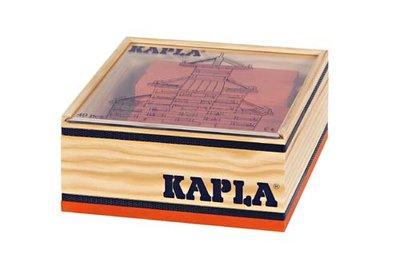 KAPLA - 40 stuks Oranje (in kistje)
