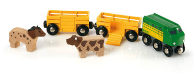 BRIO - Trein met boerderijdieren