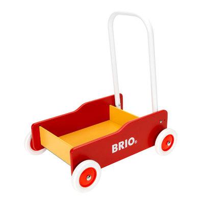 BRIO - Geel-rode loopwagen