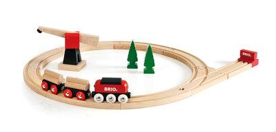 BRIO - Klassieke goederentrein set