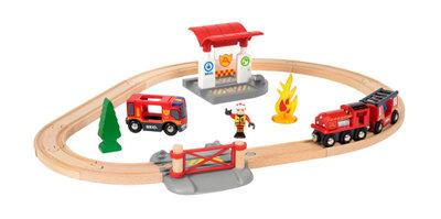BRIO - Treinset bij de brandweer