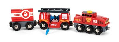 BRIO - Trein van de brandweer
