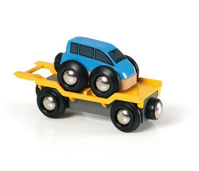 BRIO - Autotransporter met oprijplaat