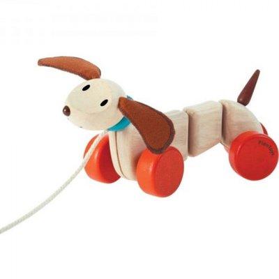 PLANTOYS - Happy Puppy trekfiguur