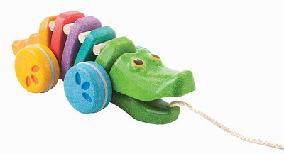 PLANTOYS - Dancing alligator Regenboog