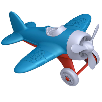 GREENTOYS - Airplane (Blue Wings)