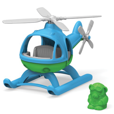 GREENTOYS - Helicopter (Blue)