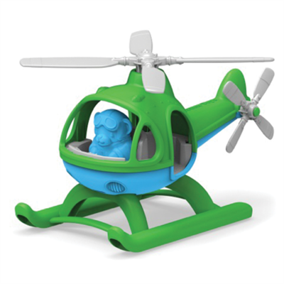 GREENTOYS - Helicopter (Green)