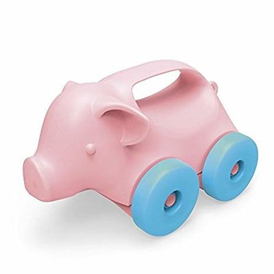 GREENTOYS - Pig on Wheels