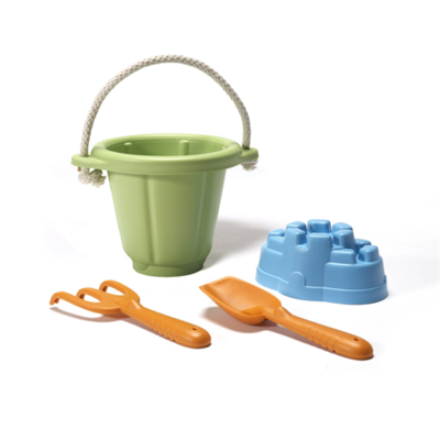 GREENTOYS - Sand Play Set (Green)