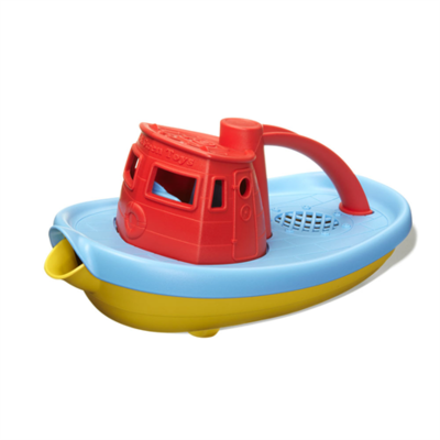 GREENTOYS - Tugboat (Red)