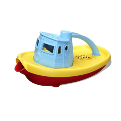 GREENTOYS - Tugboat (Blue)