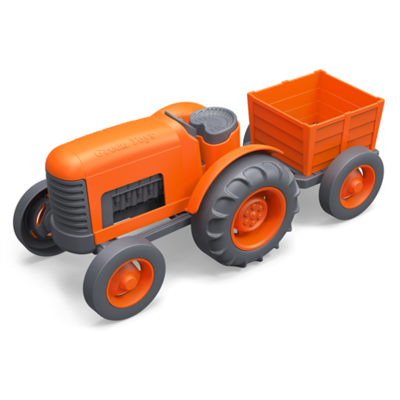 GREENTOYS - Tractor Orange