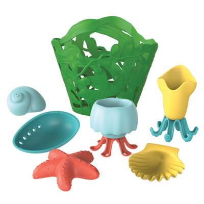 GREENTOYS - Tide Pool Bath Set