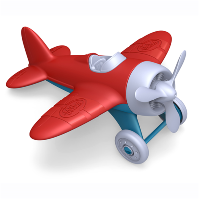 GREENTOYS - Airplane (Red Wings)