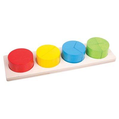 BIGJIGS - Cirkel Breuken Puzzel