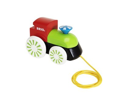 BRIO - Gekleurde Locomotief trekfiguur