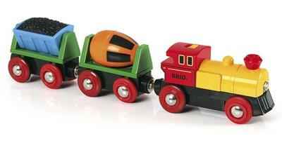 BRIO - Trein met wagons op batterijen