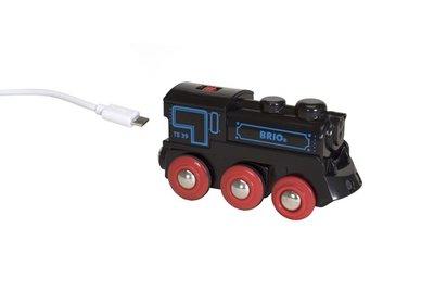 BRIO - USB Oplaadbare trein