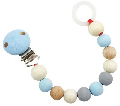 HESS - Speenketting (Naturel-Blauw)