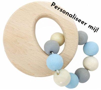 HESS - Rammelaar Cirkel (naturel-blauw) - gemaakt voor jou!