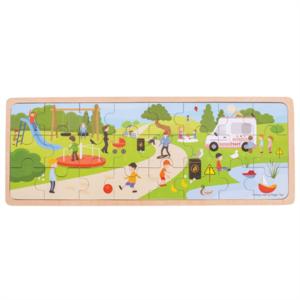 BIGJIGS - In het park puzzel