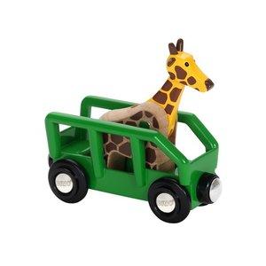 BRIO - Giraffe & Wagon 33724
