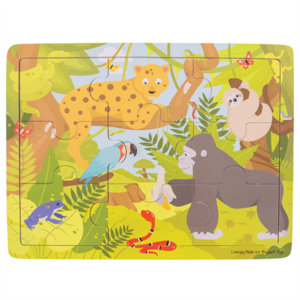 BIGJIGS - Houten puzzel Jungle (9st)