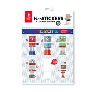 EL NAN Nan Stickers Robot