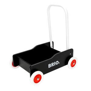 BRIO - Zwarte loopwagen