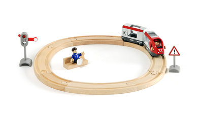 BRIO - Set met passagierstrein
