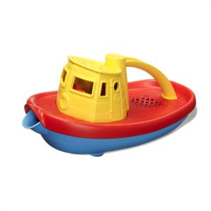 GREENTOYS - Tugboat (Yellow)