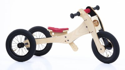 TRYBIKE - wood Red